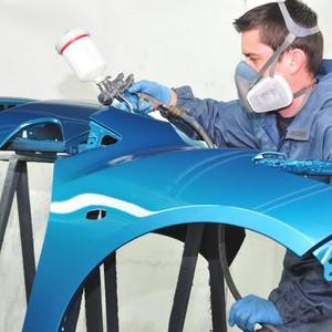 Tinta térmica automotiva